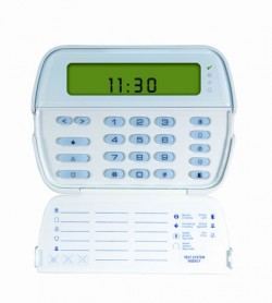 64 ZONE PICTURE ICON KEYPAD W/BUILT IN W/L REC