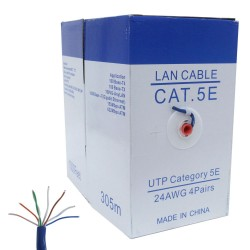 24/4 PAIR CAT5 PVC SOLID 1000'