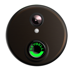 ALARM.COM WIFI DOORBELL CAMERA - BRONZE