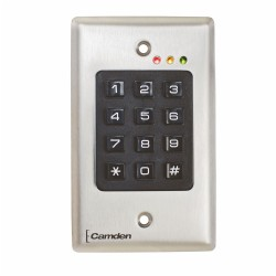 OUTDOOR KEYPAD, VANDAL, STAND ALONE 26-BIT WIEGAND