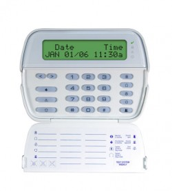 64 ZONE FULL MESSAGE KEYPAD W/BUILT IN W/L REC