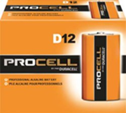D ALKALINE BATTERY(Price per pack of 12)