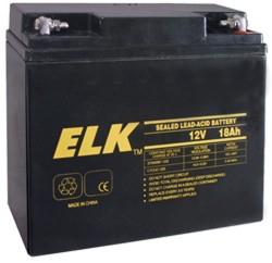 12 V 18 AMP HOUR BATTERY