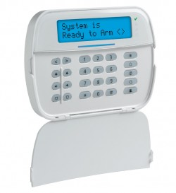 POWERSERIES NEO FULL MESSAGE KEYPAD W / POWERG TRANSCEIVER