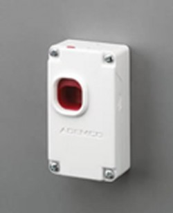 269R--HOLD UP BUTTON SWITCH STAINLESS STEEL