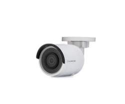 Indoor/Outdoor PoE Mini Bullet 1080p Camera with 4mm lens, without adapter