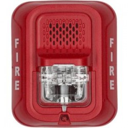 2 WIRE HORN STROBE STD CD RED